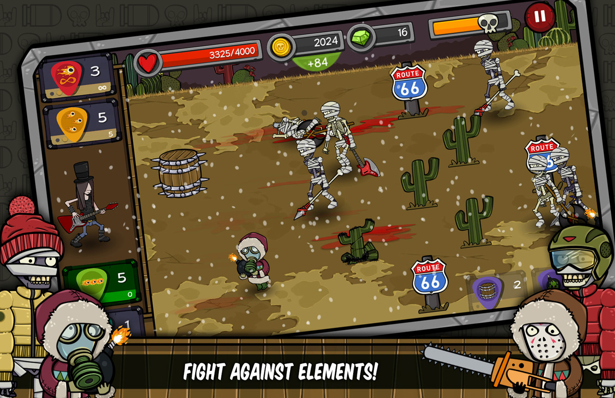 Rock Defender Tower Defense Android Free